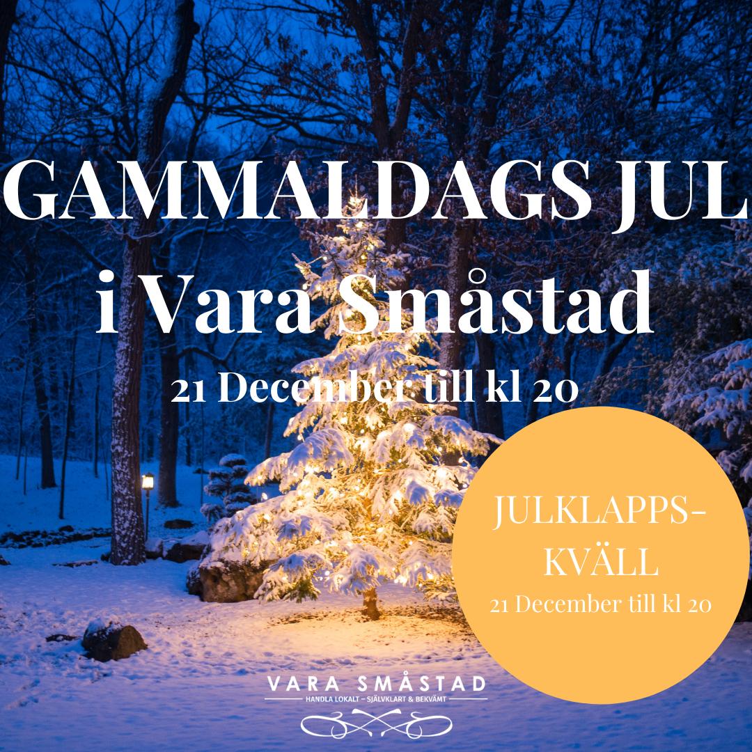 Julklappskväll 21 December